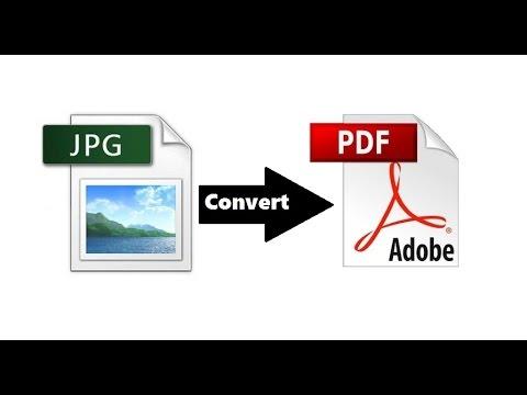 تحويل الصور الى pdf للكمبيوتر