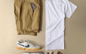 تنسيق القميص الأبيض للرجال