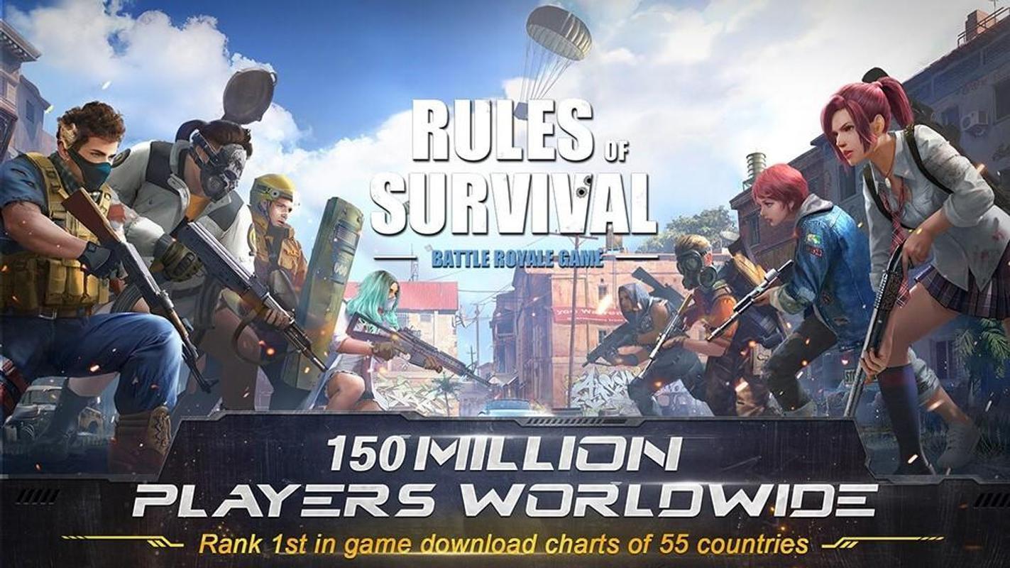 تحميل لعبة rules of survival للكمبيوتر