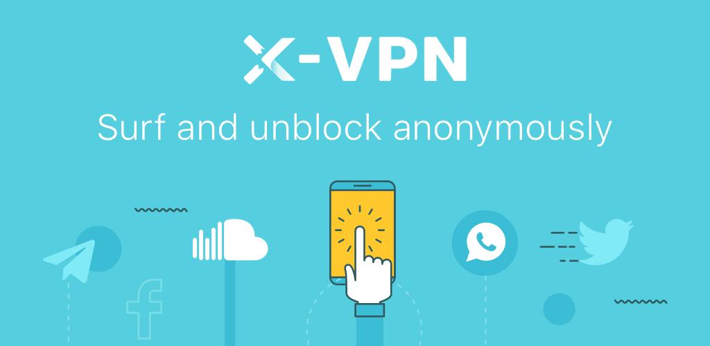 بروكسي مجاني, تطبيق x-vpn